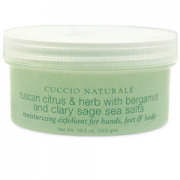Tuscan Citrus & Herb with Bergamot & Clary Sage Sea Salts...